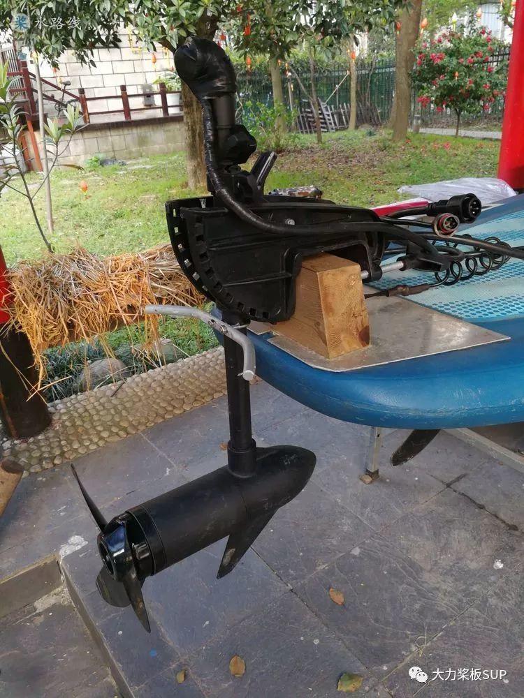浙江SUP桨友·嘉兴老顾,DIY动力桨板SUP!(细节)- 水路线