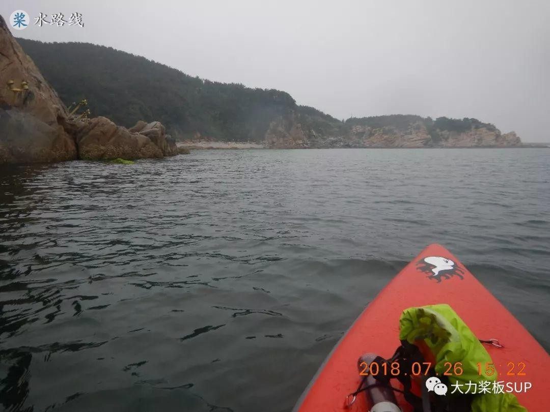 水路线 -SUP桨板 海划跳岛指南系列--(威海-刘公岛 半月湾 第一回)