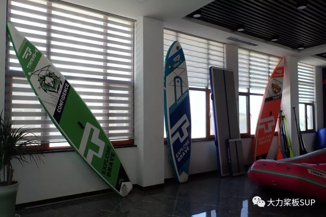 参观世界一线SUP品牌生产厂·TRANS-E 创意桨板